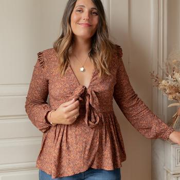 Vêtements Femme Tops / Blouses Céleste ROSSIGNOL Multicolore
