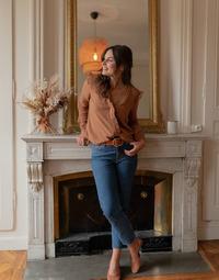 Vêtements Femme Tops / Blouses Céleste ZEPHYR Camel