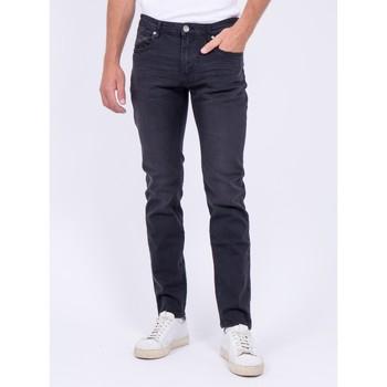 Vêtements Jeans Ritchie Jean coupe ajustée SAMAN Noir