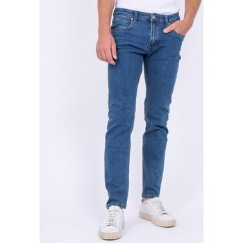 Vêtements Jeans Ritchie Jean coupe ajustée SKARBEK Bleu