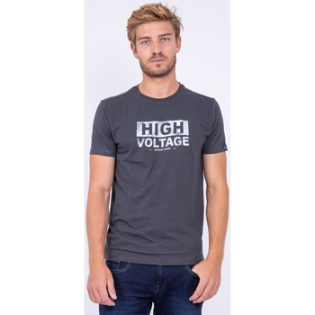 Vêtements T-shirts manches courtes Ritchie T shirt col rond pur coton JATMAN Gris foncé