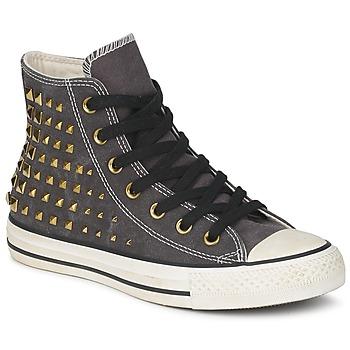 Chaussures Femme Baskets montantes Converse ALL STAR COLLAR STUDS CANVAS HI noir