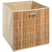 Maison & Déco Paniers, boites et corbeilles Silumen Panier de rangement en bambou Marron