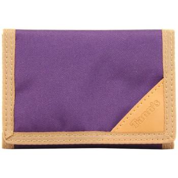 Sacs Homme Portefeuilles Tann's Petit portefeuille en toile  Violet Bicolore Multicolor