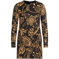 Vêtements Femme Robes courtes Joggings & Survêtements Robe  noire avec imprimé Bijoux Multicolor
