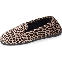 Chaussures Femme Chaussons Isotoner Chaussons charentaises girafe Girafe