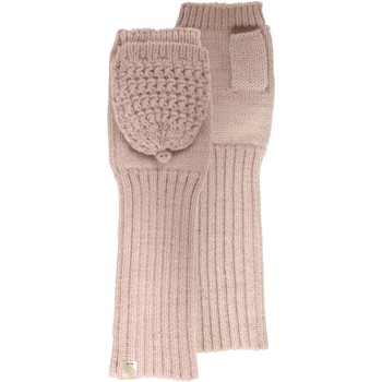 Accessoires textile Femme Gants Isotoner Mitaines longues avec lurex Poudré
