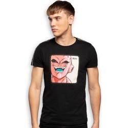 Vêtements Homme T-shirts manches courtes Dragonball Z DRAGON BALL Z T-shirt Col rond Homme Coton BUU2 Noir CAPSLAB Noir