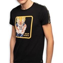 Vêtements Homme T-shirts manches courtes Dragonball Z DRAGON BALL Z T-shirt Col rond Homme Coton VGM2 Noir CAPSLAB Noir