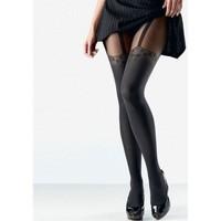 Sous-vêtements Femme Collants & bas Aubade Collant Femme Opaque TROMPE OEIL Noir 60D Noir