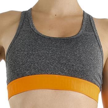 Sous-vêtements Femme Brassières Freegun Brassière Femme Microfibre BRAMASS2 Gris Orange AKTIV Gris