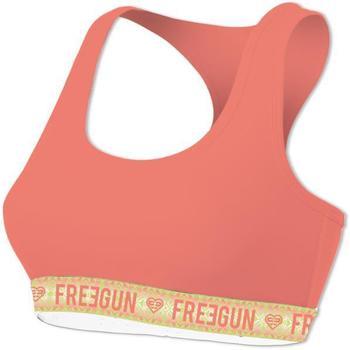 Sous-vêtements Femme Brassières Freegun Brassière Femme Coton bio INCA Melon Orange