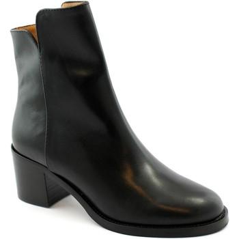 Chaussures Femme Bottines Les Venues LES-I21-2655-NE Nero