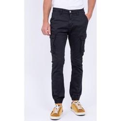 Vêtements Homme Pantalons cargo Ritchie Pantalon battle VAOUR Noir