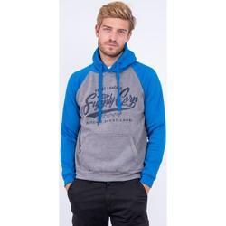 Vêtements Sweats Ritchie Sweat à capuche pur coton WANDERLUST Bleu royal