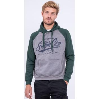 Vêtements Sweats Ritchie Sweat à capuche pur coton WANDERLUST Vert