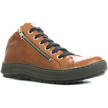 Chaussures Femme Baskets montantes Chacal 5728 orange