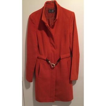 Vêtements Femme Manteaux River Woods Manteau en laine River Woods Orange