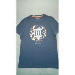 Vêtements Homme T-shirts manches courtes Celio tee shirt jules Bleu