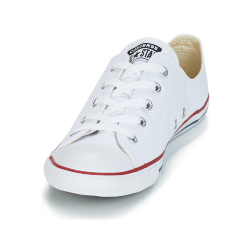 Star Taylor Dainty Chuck BlancRouge Ox Baskets All Converse Basses Femme lFTK1Jc