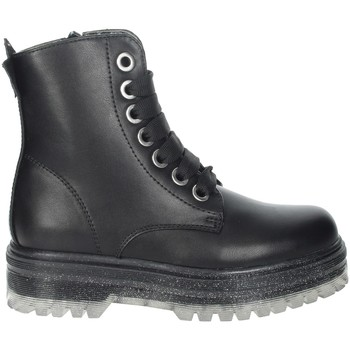 Chaussures Fille Boots Asso AG-12532 Noir