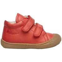 Chaussures Enfant Chaussons bébés Naturino COCOON VL-petites chaussures premiers pas en cuir nappa rouge