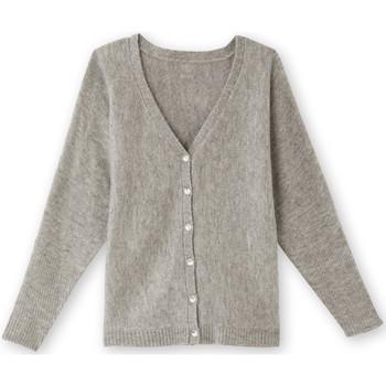 Vêtements Femme Gilets / Cardigans Balsamik Gilet boutonné devant ou dos chingris