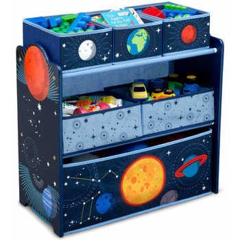 Maison & Déco Malles, coffres de rangements Delta Children Organisateur de jouets Noir