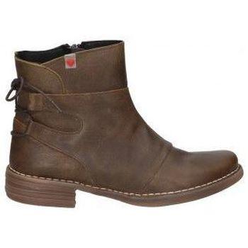 Chaussures Femme Bottines Cucuruchas BOTINES  22142 MODA JOVEN MARRON Noir