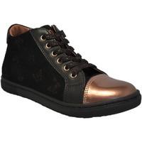 Chaussures Fille Baskets montantes Stones and Bones Stac Noir