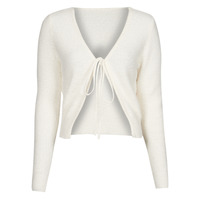 Vêtements Femme Gilets / Cardigans Yurban  Blanc