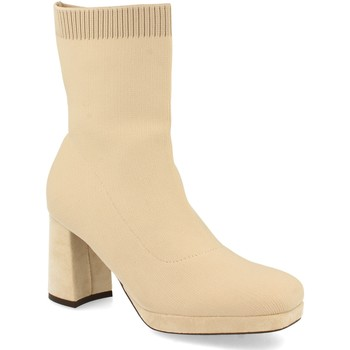 Chaussures Femme Bottines Buonarotti 2A-1499 Beige
