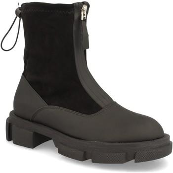 Chaussures Femme Bottines Buonarotti 2AW-1413 Negro