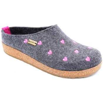 Chaussures Femme Chaussons Haflinger cuoricini Gris