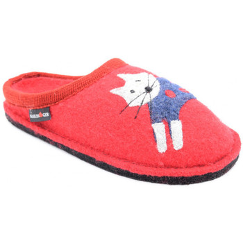 Chaussures Femme Chaussons Haflinger cucho Rouge