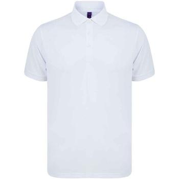 Vêtements Homme Polos manches courtes Henbury H465 Blanc