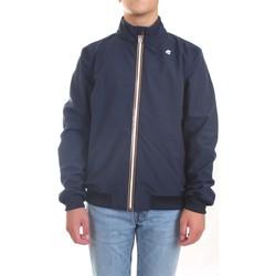 Vêtements Homme Vestes / Blazers K-Way K111B1W Veste homme Bleu