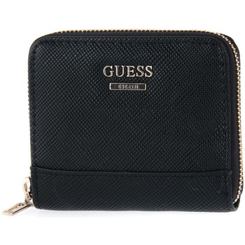 Sacs Femme Portefeuilles Guess NOELLE SMALL RAOUND Nero