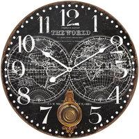Maison & Déco Horloges Signes Grimalt Horloge Murale 58 Cm. Negro