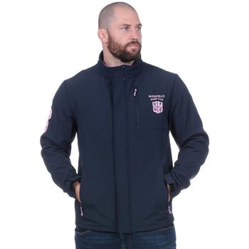 Vêtements Homme Vestes de survêtement Ruckfield Softshell Rugby Club marine Noir