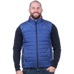 Vêtements Homme Doudounes Ruckfield Doudoune réversible bleu et jaune Noir