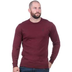Vêtements Homme Pulls Ruckfield Pull essentiel bordeaux Rouge