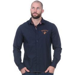 Vêtements Homme Chemises manches longues Ruckfield Chemise manches longues French Rugby Club marine 0