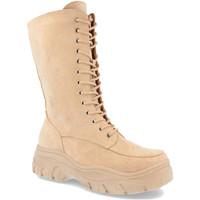Chaussures Femme Bottes ville Buonarotti 2AP-1431 Beige