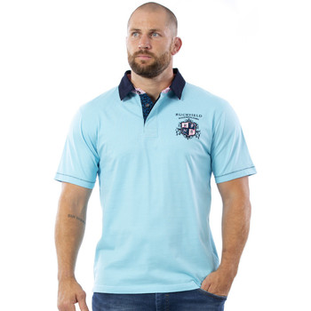 Vêtements Homme Polos manches courtes Ruckfield Polo turquoise We are rugby Bleu