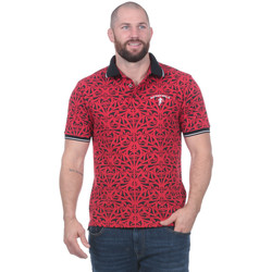 Vêtements Homme Polos manches courtes Ruckfield Polo rouge Maori manches courtes 0