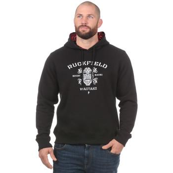 Vêtements Homme Sweats Ruckfield SWEAT A CAPUCHE MAORI Noir