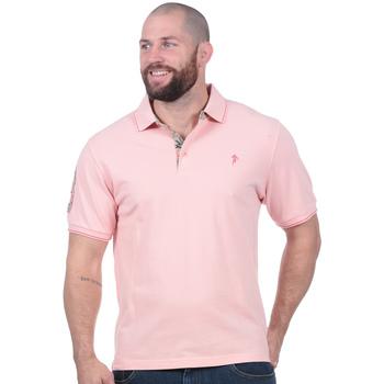 Vêtements Homme Polos manches courtes Ruckfield Polo automne uni à manches courtes Noir