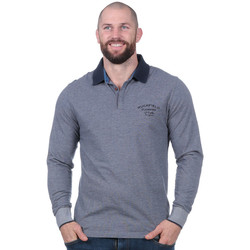 Vêtements Homme Polos manches longues Ruckfield Polo flowers of rugby à manches longues Noir