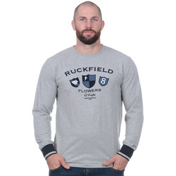 Vêtements Homme T-shirts manches courtes Ruckfield Tee-shirt Flowers of Rugby à manches longues Noir